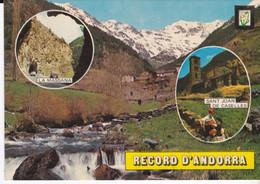 CPSM VALLS D' ANDORRA DIVERS ASPECTS - Andorra