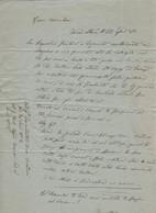 Regno D'ITALIA - 1881 - Lettera Manoscritta Da Rocca San Casciano A Premilcuore - Manuskripte