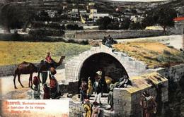 Israel Nazareth Marienbrunnen La Fontaine De La Vierge St Mary's Well Postcard - Israël
