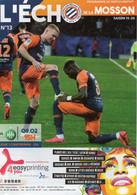 Programme Du Match De Ligue 1 Montpellier HSC/ Saint Etienne Du 9 Février 2020 - Abbigliamento, Souvenirs & Varie