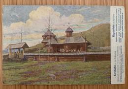 Romania Bukowina Carlibaba Kirlibaba 1915 Hutsul Church - Roemenië