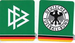 2 Autocollants De La Fédération Allemande De Football - Abbigliamento, Souvenirs & Varie