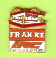 Pin's Mac Do McDonald's Restaurant Franke IRC Parts & Supplies - 10C27 - McDonald's