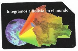 Bolivia, Entel, Urmet Used Phone Card, No Value, Collectors Item, # Bolivia-34 - Bolivia