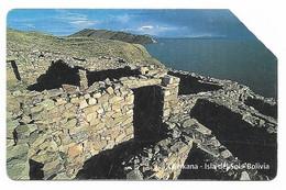 Bolivia, Entel, Urmet Used Phone Card, No Value, Collectors Item, # Bolivia-37 - Bolivia