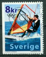 Bm Sweden 2000 MiNr 2184 Used | Olympic Games, Sydney. Wind Surfing - Gebraucht