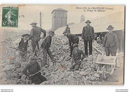 CPA 23 Mines D'Or Du Chatelet Le Triage Du Minerai - Other Municipalities