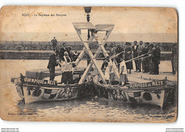 CPA 34 Meze Le Bapteme Des Barques - Joute - Mèze