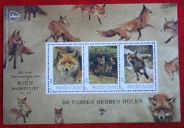 Vos Fox Zorro Renard De Vossen Hebben Holen Rien Poortvliet 2020 POSTFRIS / MNH ** NEDERLAND  NETHERLANDS - Periodo 2013-... (Willem-Alexander)