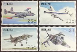 Belize 2003 Powered Flight Centenary Aircraft MNH - Belize (1973-...)