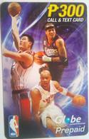 Globe Telecom 300 Pesos NBA Basketball - Filippine