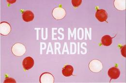 CP Légumes 2020 - Tu Es Mon Paradis - Radis - Flowers, Plants & Trees