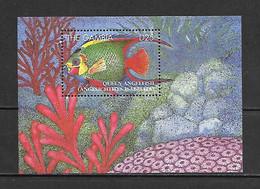 Gambia 1995 Marine Life - Fishes - Angelicthys Isabelita MS MNH - Gambia (1965-...)