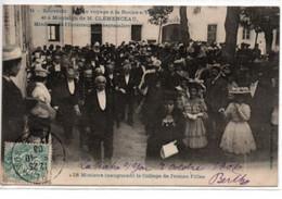 La Roche Sur Yon- Voyage De Clemenceau Septembre 1906-Le Ministre Inaugurant Le Collège De Jeunes Filles - La Roche Sur Yon