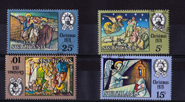 1978, Xmas, Used - Swaziland (1968-...)