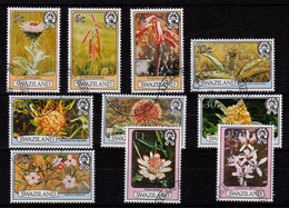 1980, Flowers, Part Set, Used - Swaziland (1968-...)