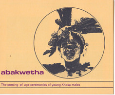 1979, UMM, Traditional Dances, Coming Of Age, Booklet - Transkei
