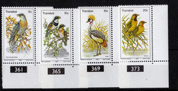 1980, UMM, Birds - Transkei