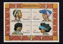 1981, UMM, Xhosa Headdresses, M/S - Transkei