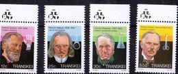 1985, UMM, Famous Medical People - Transkei