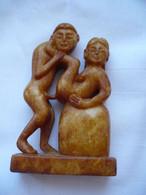 Erotisches Paar - Halbedelstein-Schnitzerei (865) - Arte Asiatica