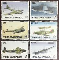 Gambia 1990 World War II Aircraft MNH - Gambia (1965-...)