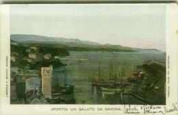 SAVONA - PORTO - EDIZIONE LIBRERIA V. MAUCCI - SPEDITA 1903 (BG5969) - Savona