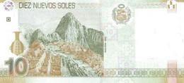 Perù P.182 10  Soles 2009 Unc - Peru