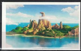 CORA Collector Angry Birds 2020 Autocollant Vue De L'Île Aux Oiseaux 16/80 - Vignettes Autocollantes