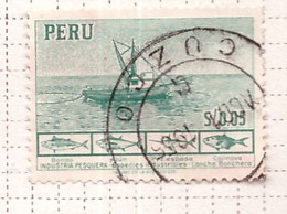 PIA - PERU'- 1952-53 : Peschereccio - (Yv  427) - Pérou