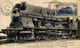 LES LOCOMOTIVES FRANÇAISES. - TREN  TRAIN  TREIN. - Trains