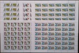 Russia, 1998, Mi. 682-86, Sc. 6473-77, SG 6784-88, Regions, MNH - Blokken & Velletjes