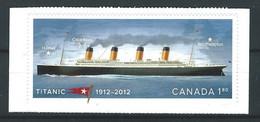 WW-/-1047--  De 2011 - (Scott No.2535 )  TITANIC, LES 100 ANS Du NAUFRAGE, De CARNET, Voir IMAGE Pour Detail, Je Liquide - 1952-.... Elizabeth II
