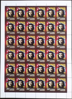Russia, 2009, Mi. 1530, Y&T 7093, Sc. 7124, SG 7586, The 50th Anniv. Of The Cuban Revolution, Che Guevara, Joint Issue W - Volledige Vellen