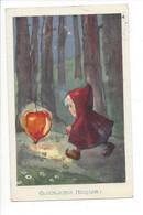 25668 - Milli Weber Fillette à La Lanterne Glückliches Neujahr - Other Illustrators