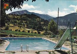 ANDORRE. VALLS D'ANDORRA. CPSM. HOTEL CASAMANYA. LA PISCINE. - Andorra
