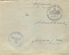 Bedarf SST Kolmar (Els.) - Meissen Deutsches Reich - Occupation 1938-45