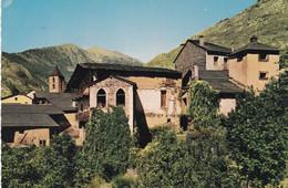 ANDORRE. VALLS D'ANDORRA. CPSM. ORDINO. VUE PARTIELLE ET VIEILLE MAISON TYPIQUE - Andorra
