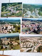 Lot De 60 Cartes  Aerienne  Petit Villages  Et Villes J Ai Inscrit Quelques Nom - 5 - 99 Karten