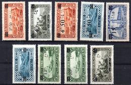 Col17  Colonie  Syrie N°  179 à 187  Neuf X MH   Cote 13,00€ - Nuevos