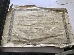 De L'éducation Nationale 1949 Officier D'académie Le Ministre De L'éducation Nationale 1949 - Diploma's En Schoolrapporten