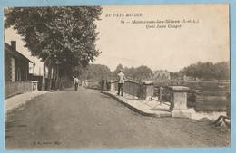 A138  CPA  MONTCEAU-les-MINES (Saône Et Loire)  AU PAYS MINIER  -  Quai Jules Chagot   +++++ - Montceau Les Mines