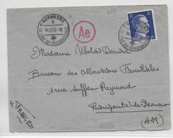 STO - 1943 - ENVELOPPE Du CAMP De GARTENSTADT / NÜRNBERG => PRINCIPAUTE De MONACO ! DESTINATION RARE Pour STO - Guerra De 1939-45