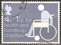 Grande Bretagne - 1975 - Timbre De Bienfaisance émis Au Profit D'une Oeuvre De Charité - YT 746 Oblitéré - Usati