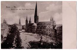 CPA ALLEMAGNE - BONN A. Rh. - Blick Von Der Post Zum Neutor (semi-brillante) - Bonn