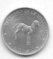 *vatican 2 Lire  1975 Km 117 Unc /ms63 - Vaticano