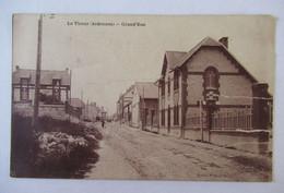 Le Thour (Ardennes) - Grand'Rue - Veuve Rigaux éditeur - Cachet Postal De Recette Auxiliaire Bercenay En Othe - Otros Municipios