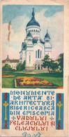 ROUMANIE Dépliant Monuments Eglises Roumaines Fin Années 1960 - Dépliants Turistici