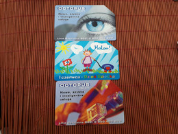 3 Phonecards Poland Low Price  Used - Polen