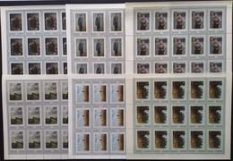 Russia, USSR, 1971, Mi. 3930-35, Y&T 3766-71, Sc. 3896-01, SG 3982-87, Russian Paintings, MNH - Blocchi & Fogli